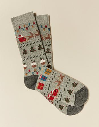 One Pack Novelty Socks