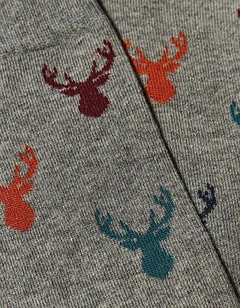 One Pack Multi Stag Head Socks