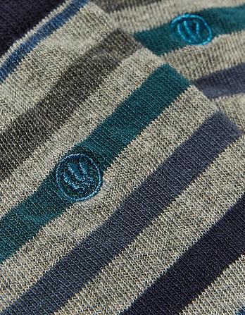 One Pack Ralph Stripe Socks