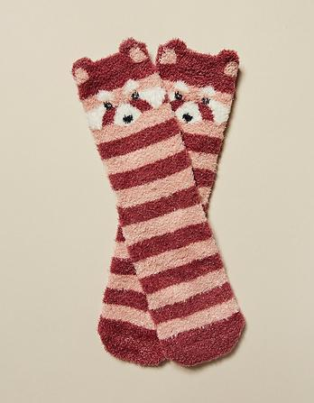 Penny Panda Fluffy Socks