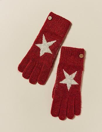 Star Pattern Gloves