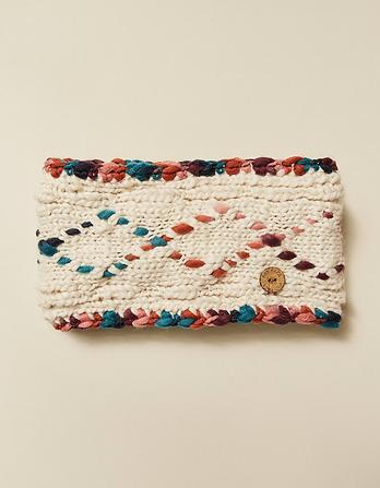 Hand Stitch Diamond Headband