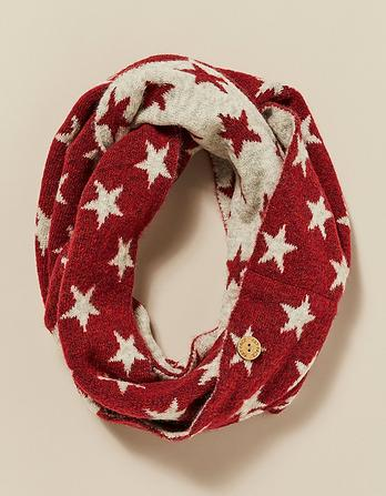 Star Intarsia Snood