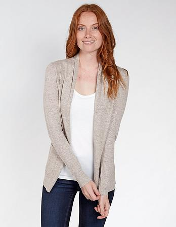 Organic Cotton Libby Wrap Cardigan