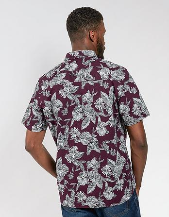 Hawaiian Toucan Print Shirt