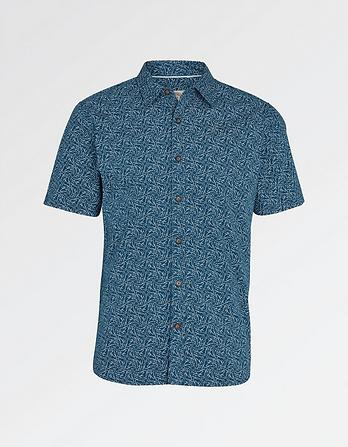 Shark Print Shirt