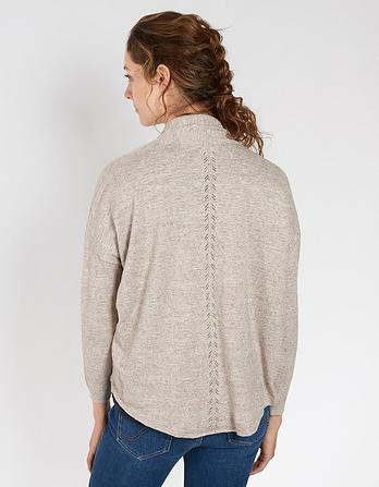 Organic Cotton Libby Cocoon Cardigan