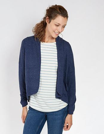 Organic Cotton Libby Cocoon Cardigan