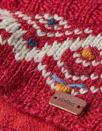 Zig Zag Knit Headband