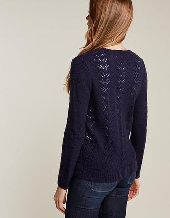 Fern Pointelle Sweater