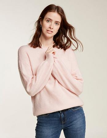 Saskia Balloon Sleeve Sweater