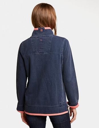 Airlie Half Neck Sweatshirt