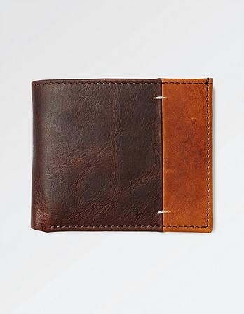Simon Stitch Leather Wallet
