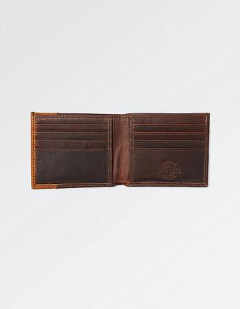 Simon Stitch Leather Wallet