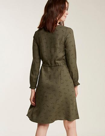 Nicola Dragonfly Spot Dress