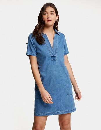 Cora Denim Dress