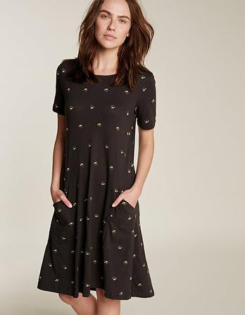Simone Tulip Embroidered Dress