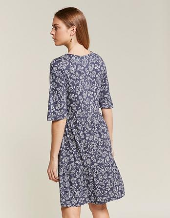 Martine Prairie Floral Tiered Dress