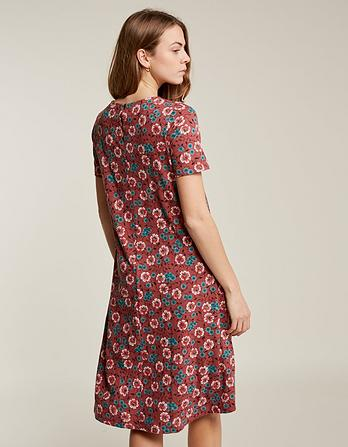 Simone Posy Ditsy Longer Length Dress