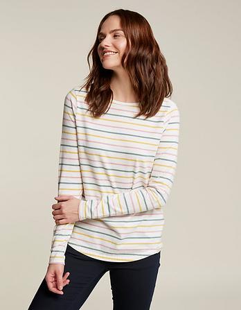 Organic Cotton Multi Breton T-Shirt