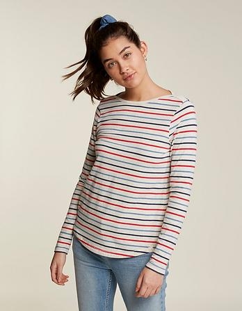 Organic Cotton Multi Breton T-Shirt