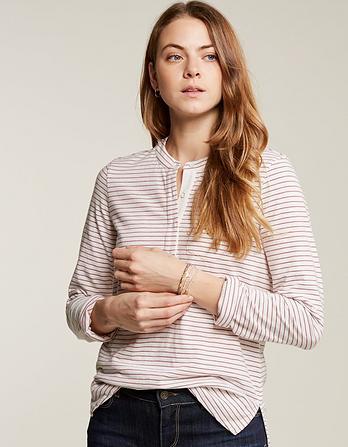 Clara Stripe Jersey Shirt