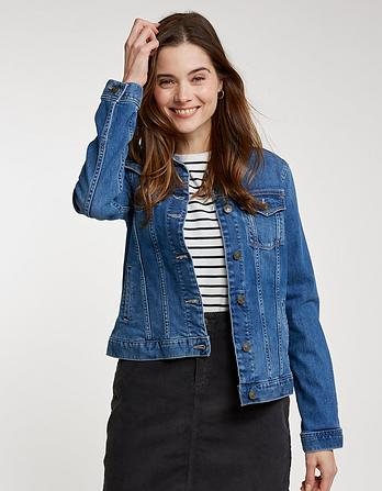 Denim Jacket Vintage Blue