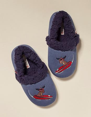 Milo Moose Slippers