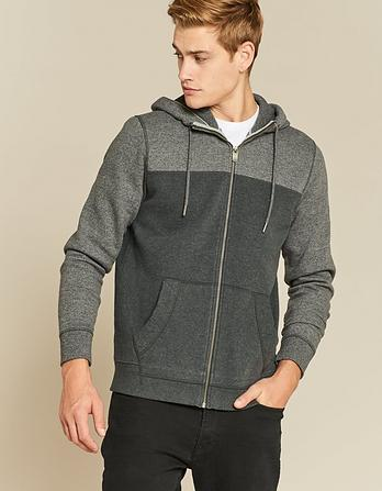 Keswick Cut and Sew Zip Thru Hoody
