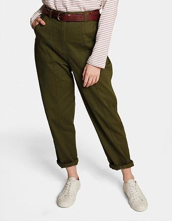 Jade Panelled Pants