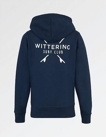 Wittering Surf Kids' Mini Dory Zip Thru Hoody