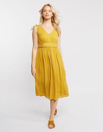Nadine Stripe Midi Dress