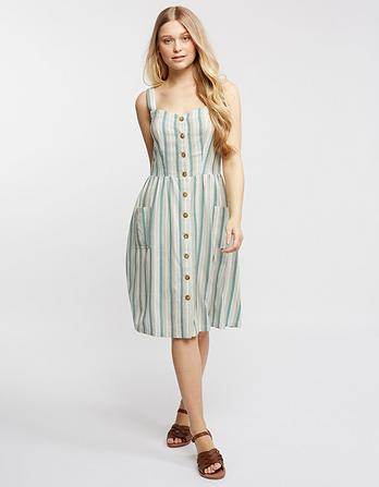 Aubrey Stripe Dress