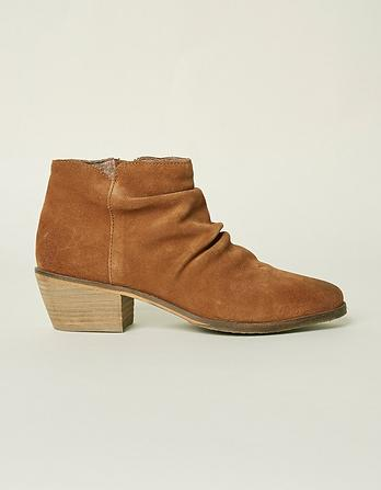 Rhodes Rouche Ankle Boots