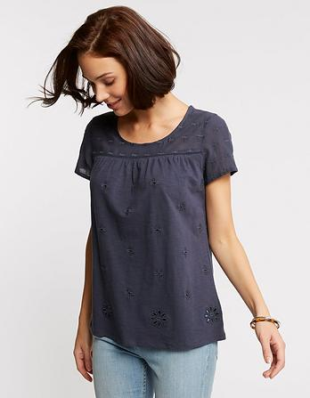 Ellie Embroidered T-Shirt