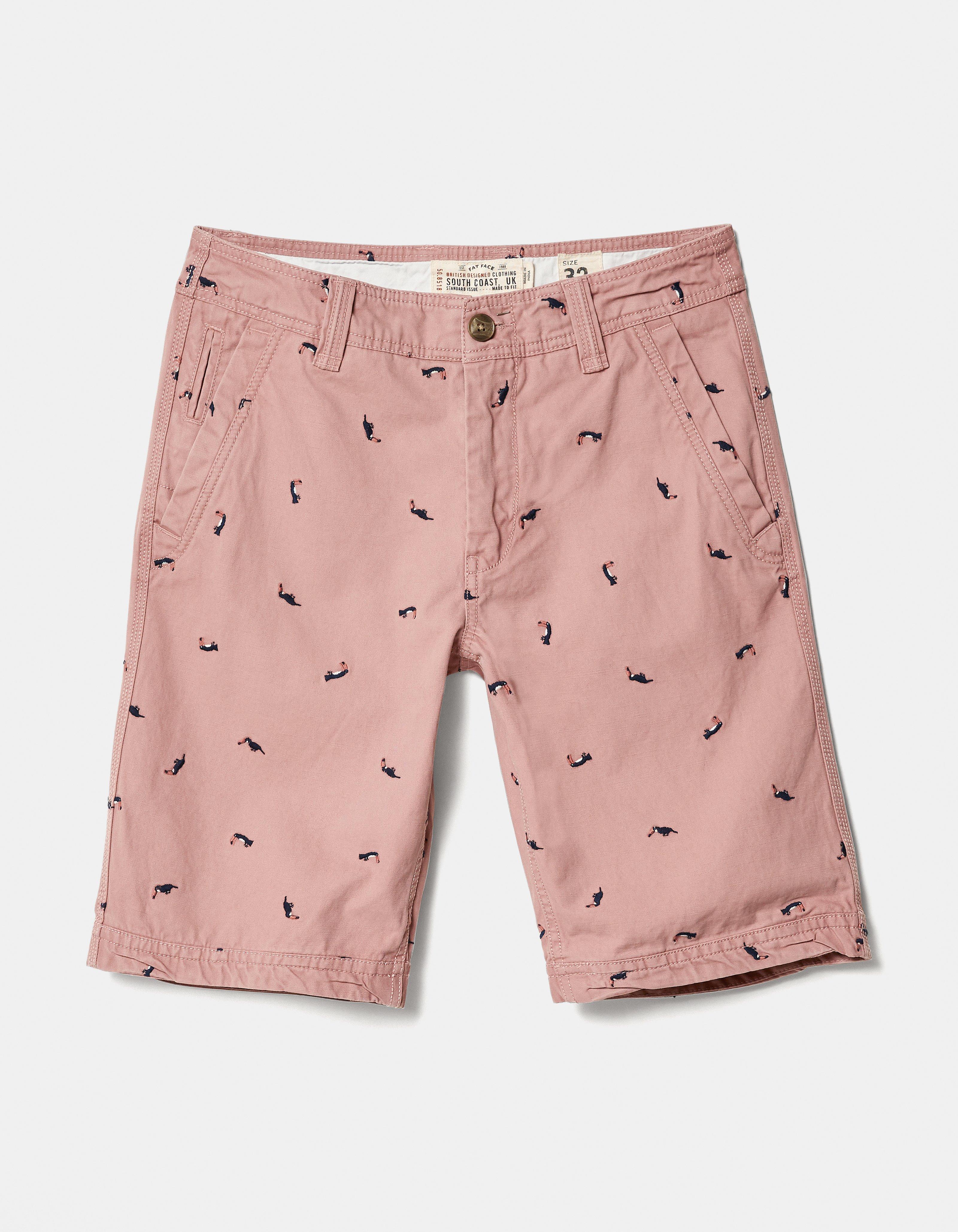 e61dd90a1e Cove Toucan Embroidery Shorts, Shorts | FatFace.com
