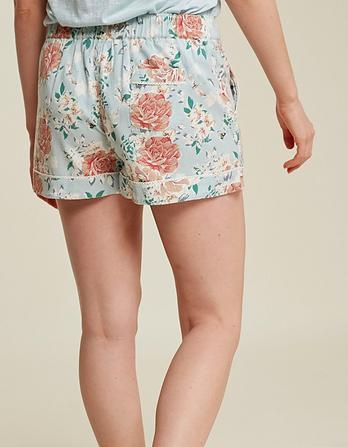 Spring Bloom Pajama Shorts