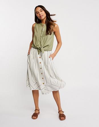 Lena Stripe Skirt