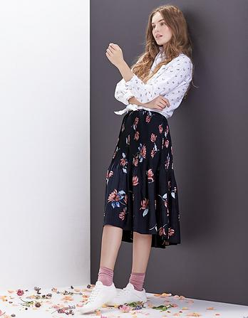 Penelope Lilies Pleated Skirt