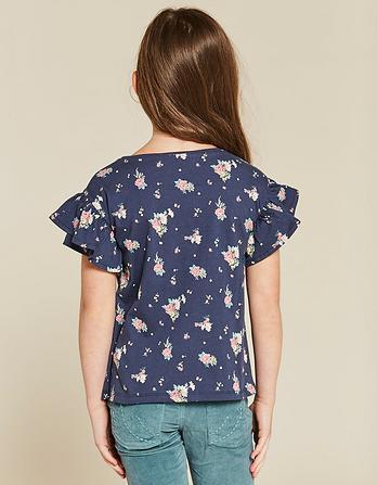 Betty Flower Print T-Shirt