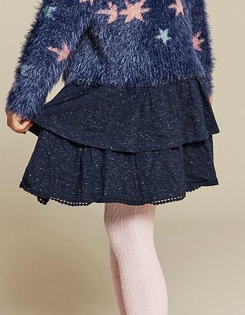 Sparkle Jersey Ra Ra Skirt