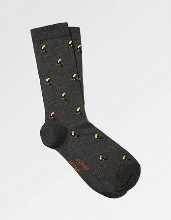 One Pack Toucan Socks
