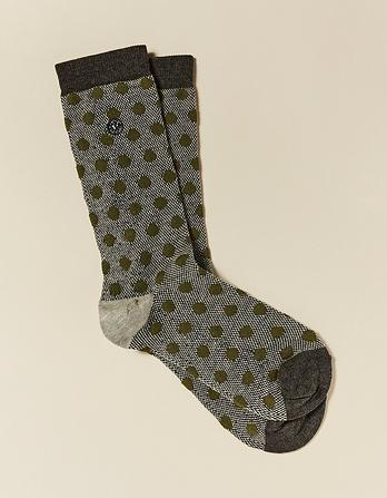 One Pack Large Spot Socks