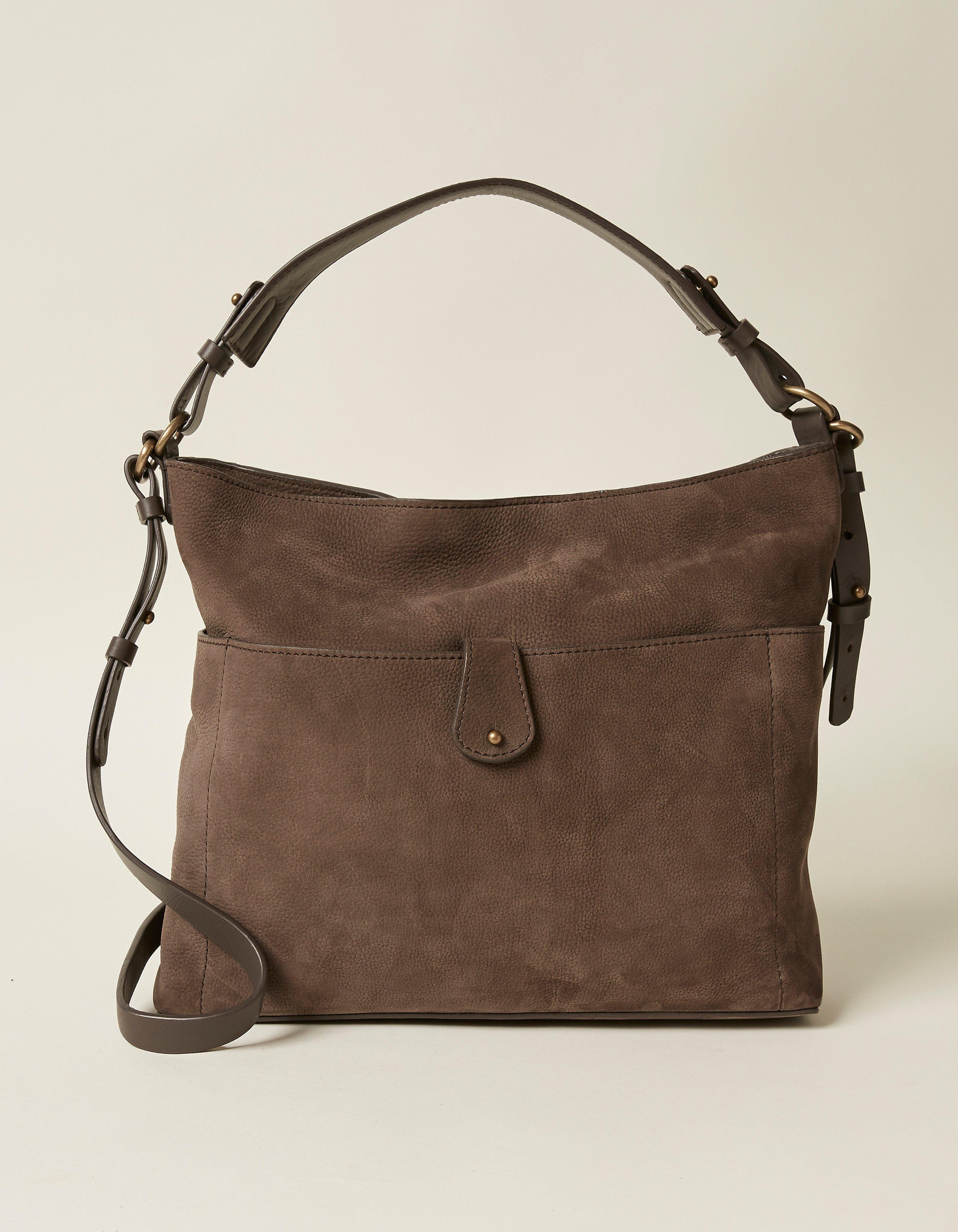 2a731982c70 Grey Sophia Slouchy Bag, Bags & Purses | FatFace.com