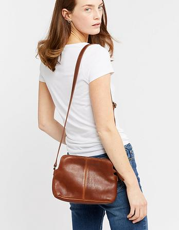 Daisy Double Zip Cross Body Bag