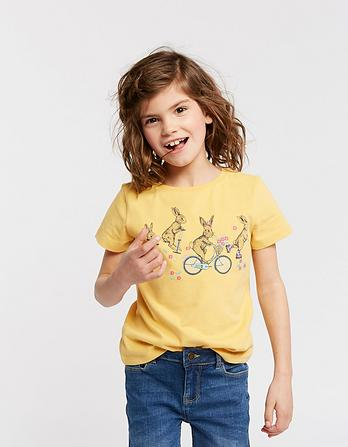 Bunny Placement Graphic T-Shirt