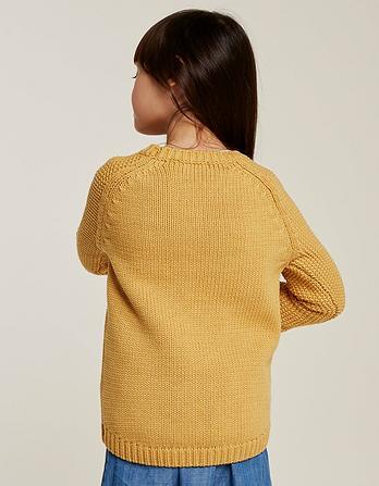 Plain Crew Neck Sweater