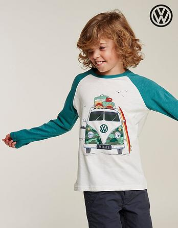 VW Camo Camper Graphic T-Shirt