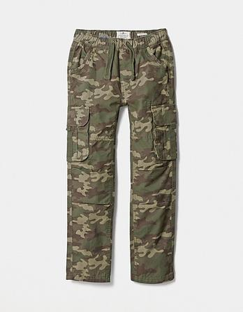 Oakhill Camo Cargo Pants
