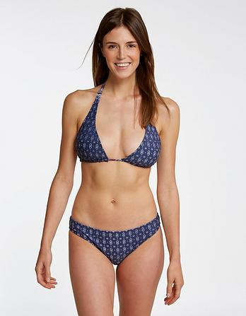 Batik Stripe Reversible Bikini Top